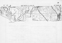 Holland Township - South, Holmen, New Armsterdam, Mississippi River, La Crosse County 1954